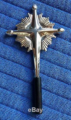 Gorham Sterling Silver Starburst Christmas TREE TOPPER Ornament 440 HTF