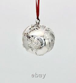 H&H Hand Hammer Limited Edition Sterling Precious Planet Xmas Ornament withCOA