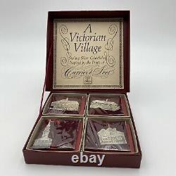 Hand & Hammer A Victorian Village Sterling Silver Ornament Set