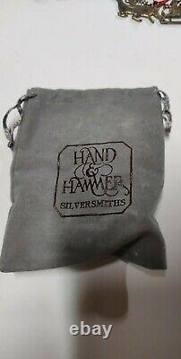 Hand and Hammer Sterling Silver Christmas ornaments 16 + 1