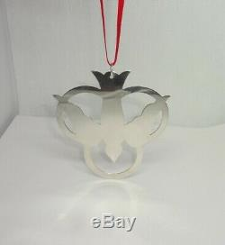 James Avery RETIRED Christmas Ornament Trinity & Peace Dove Sterling Silver