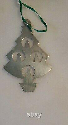 James Avery Rare Retired Sterling Christmas Ornament