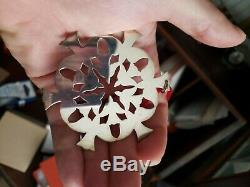 James Avery Sterling Silver Snowflake Christmas Ornament