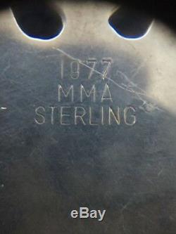 MMA 1977 Snowflake Sterling Silver Christmas Ornament Metropolitan Museum Art