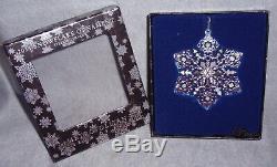 MMA 2011 Snowflake Sterling Silver Christmas Ornament Metropolitan Museum Art