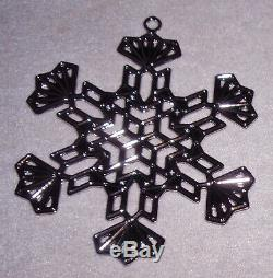 MMA 2016 Snowflake Sterling Silver Christmas Ornament Metropolitan Museum Art