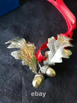 Mario Buccellati Sterling Silver Christmas Ornament Extremely Rare