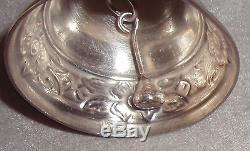 Mexico Ramirez Style Solid Sterling Silver Bell Christmas Ornament Decoration