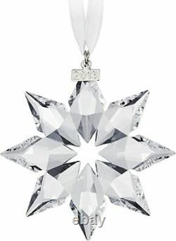 NEW Swarovski Annual Edition Ornament 2013 Crystal & Silver Christmas Holiday