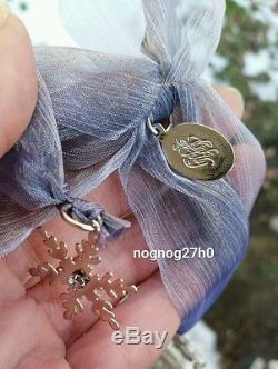 New Kirks Folly Christmas Rare Angelic Angel Snowflake Ornament 2014 15 Made