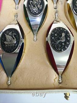 ORIGINAL 12 DAYS OF CHRISTMAS STERLING SILVER ornaments International Silver