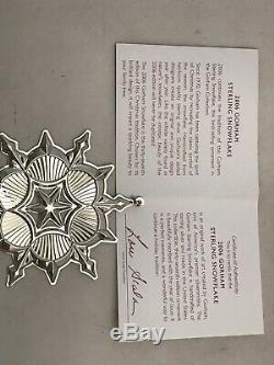 Ornament Sterling Silver GORHAM SNOWFLAKE Christmas 1994 New In Box