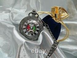 Polar Express Conductors Pocket Watch, Bell & Ticket Personalised