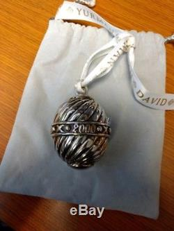 Preloved Vintage David Yurman 2000 Christmas Ornament, Sterling Silver