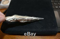 Rare 1973 #441 Gorham Icicle Sterling Silver Christmas Ornament Rare