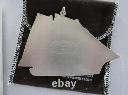 Rare 1984 Gotham Sterling Silver Ornament Schooner