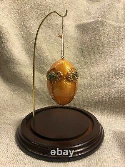 Rare Large Heirloom Collection of 33 Vivian Alexander Ornament Eggs Fine Silver