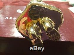 Rebecca Dykstra Limited Ed. Sterling Santa Christmas Ornament MIB COA 259/500