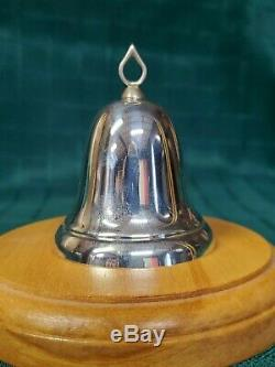 Reed & Barton Sterling Silver Legacy Christmas Bell Ornament X800 (NOS)