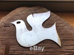 Retired James Avery Christmas Ornament in Sterling Silver Dove