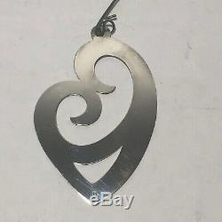 Retired James Avery Mothers Love 925 Sterling Silver Christmas Ornament