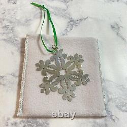 Retired James Avery Sterling Silver Christmas Tree Ornament PRETTY SNOWFLAKE JA