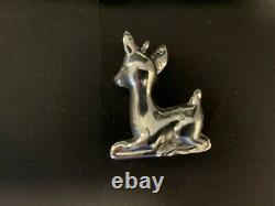 SHREVE, CRUMP & LOW SILVER 1.5 oz VINTAGE 1970th CHRISTMAS Ornament ANIMALS