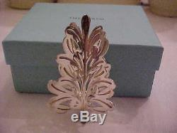 Sterling Silver Tiffany Christmas Ornament 1999