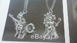 Sterling silver Christmas ornament hallmark little series kirmit miss piggy