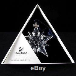 Swarovski Silver Crystal SWAROVSKI CHRISTMAS ORNAMENT 2001 ANNUAL # 267 941