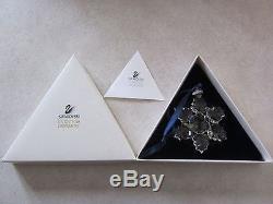 Swarovski Silver Crystal Swarovski Christmas Ornament 1996 Annual Code 199734