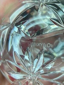 TIFFANY & Co. CRISTAL TRELLIS XMAS ORNAMENT 2 DIAMETER STERLING SILVER TRIM