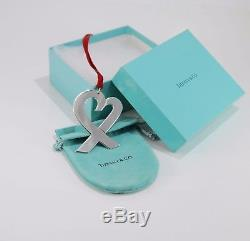 Tiffany & Co. Sterling Silver Paloma Picasso Heart Christmas Ornament