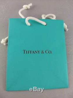 Tiffany Sterling Silver Christmas Candy Cane Ornament Excellent withbag