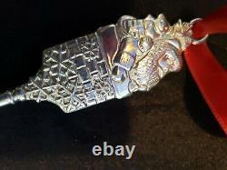 Tiffany Sterling Silver Christmas Ornament Santas Key Extremely Rare