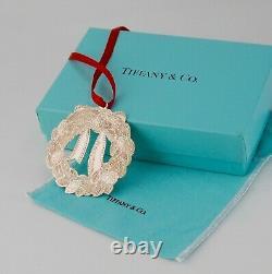 Tiffany Sterling Silver Wreath Ornament