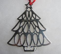 Tiffany & co. 925 Sterling Silver Christmas Tree Ornament 1998 Tree