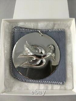 Towle 1971 Twelve Days Sterling Silver Christmas Ornament New, withBag, Brochure
