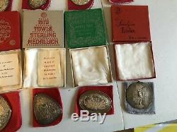 Towle Sterling Silver Christmas Ornaments Medallion/Ornaments 1971-1982 VINTAGE