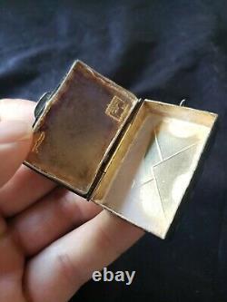Trush Cazenovia Sterling silver Christmas Ornament Letter Box extremely rare