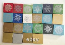 VTG Silver MMA Christmas Ornaments 70's 80's 90's see full