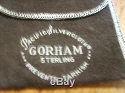Vint. Gorham Sterling Silver 1972 Christmas Star Ornament