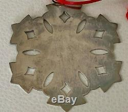 Vintage James Avery Sterling Silver Christmas Ornament