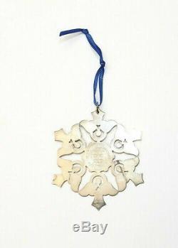 Vintage James Avery Sterling Silver St. Edwards University Christmas Ornament