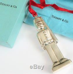 Vintage Tiffany & Co Sterling Silver 3-d Toy Soldier Christmas Ornament 925