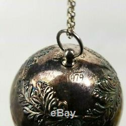 Vintage Towle 1979 Silver Plate First Edition Christmas Sleigh Bell Ornament
