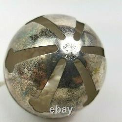 Vintage Towle Silver Plate 1st Edition Christmas Sleigh Bell Ornament 1979 Rare