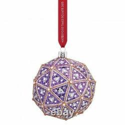 Waterford 2016 Times Square Replica Ball Ornament #40010833 Brand Nib Save$ F/sh